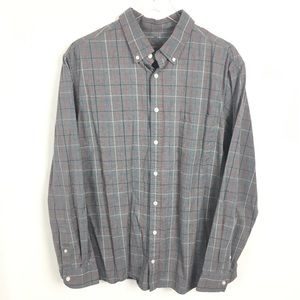 Merona XL Button Down Gray Tailored Fit
